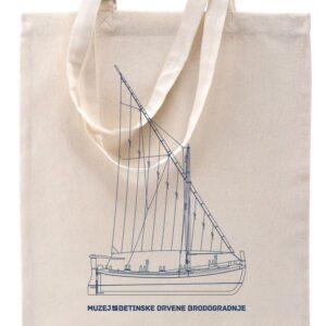 Platnena torba Betinska gajeta